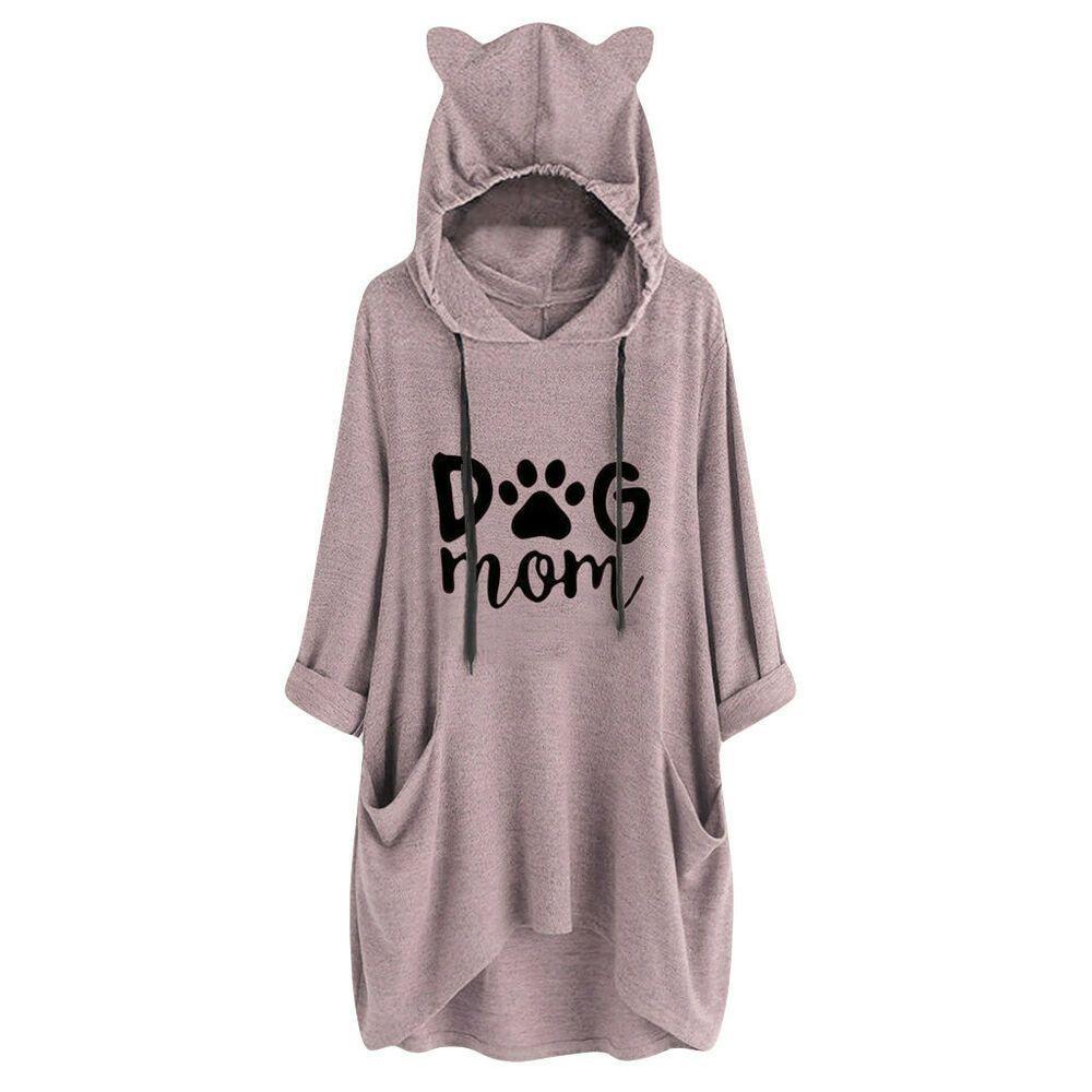 Best Cat Mom Ever Hooded Sweatshirt