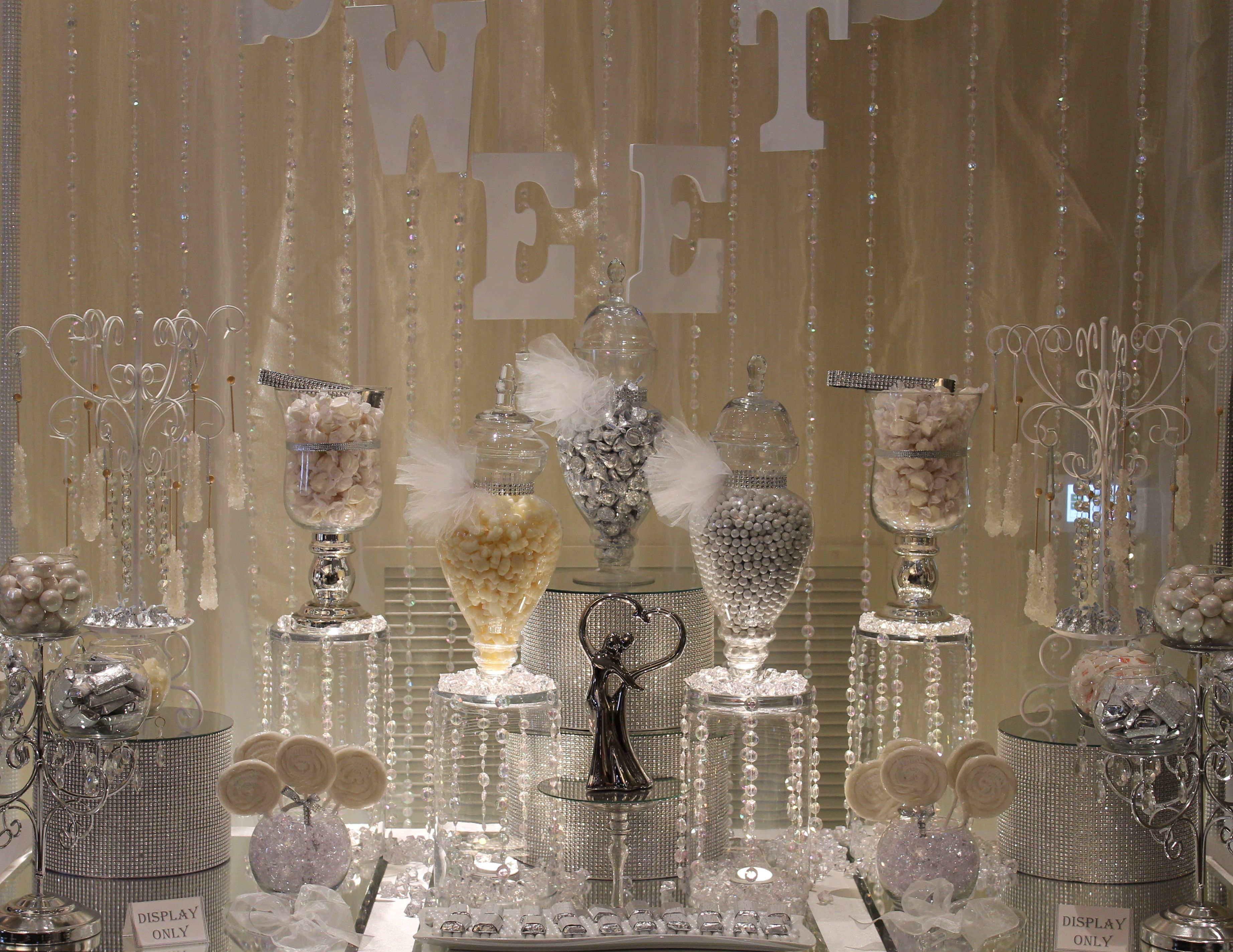 by tasty tables white candy buffet bling candy buffet candy buffet san diego