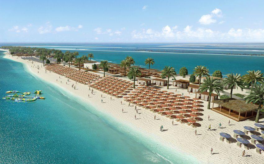 Sir Bani Yas Island Liegt Westlich Von Abu Dhabi Im Persischen Golf Die Erste Dubai Reise Kreuzfahrt Schnorcheln