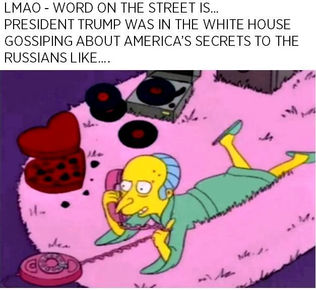 15 Totally Humorous President Trump Memes Of The Week Omgshots Com Http Ibeebz Com Vintage Cartoon The Simpsons Cartoon Pics