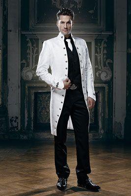 good reputation stylish design luxuriant in design Weißer Gehrock, Gay Hochzeit   dhd in 2019   Steampunk dress ...