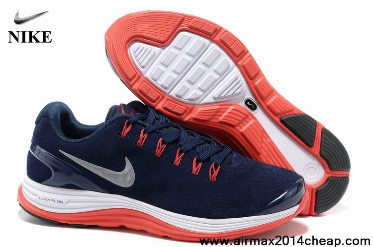 6182c9f07f74 New 524977-405 Suede Obsidian Silver White University Red Mens Nike  LunarGlide 4 The Most Lightweight Shoes