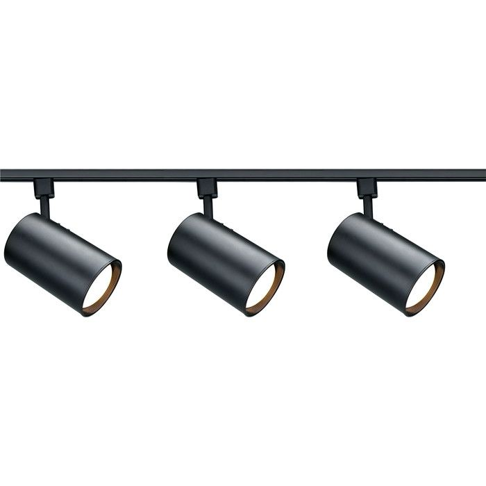 Nuvo Lighting 3 Light Full Track Lighting Kit Reviews Wayfair Track Lighting Kits Modern Track Lighting Black Track Lighting