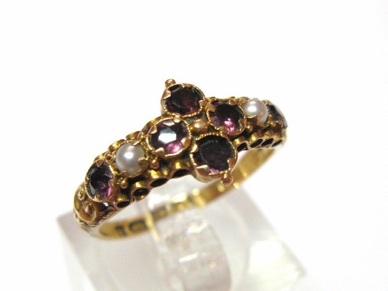 Victorian 15ct Gold Ring