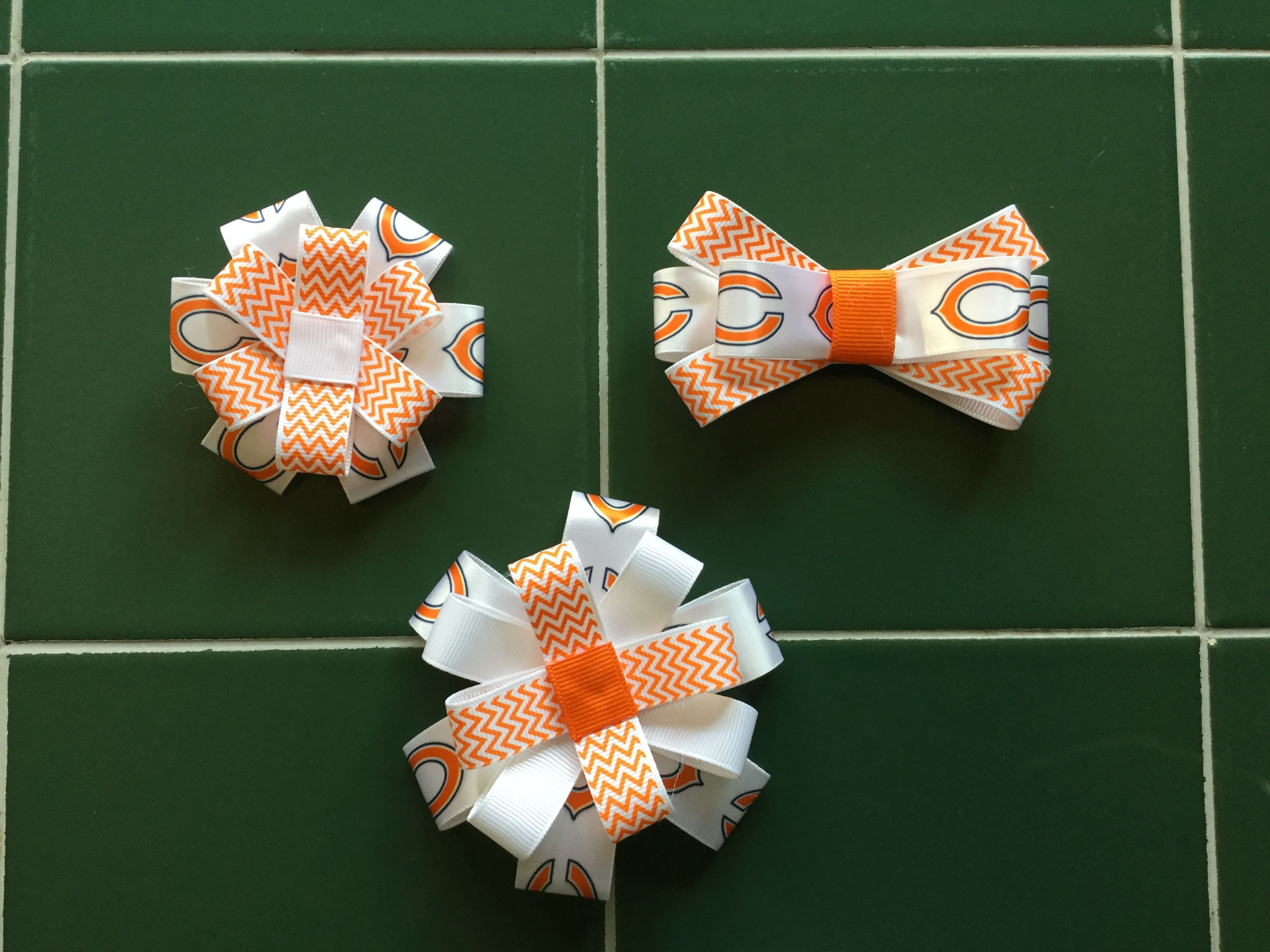 Made for my Granddaughters.  Da Bears