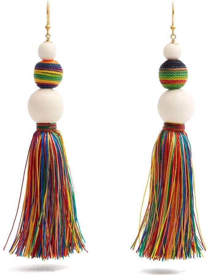 Rosantica Arlecchino tassel earrings 1HeP6Pnwt