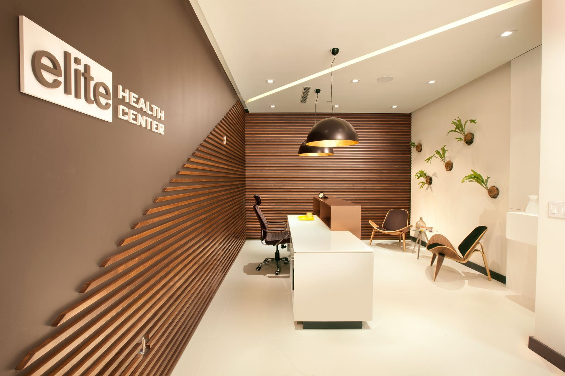 Miami Modern Scandinavian Medical Office With Images Modern
