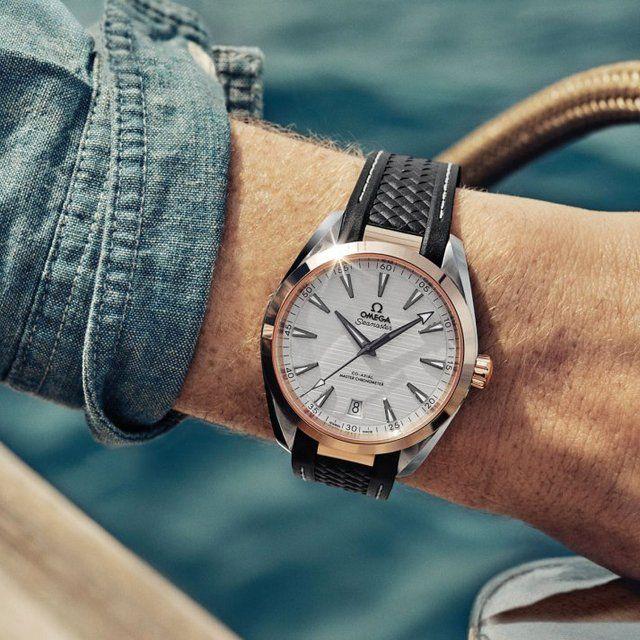 01e90add32af8 Omega Aqua Terra 150M Co-Axial Master Chronometer 41 MM in 2019 ...