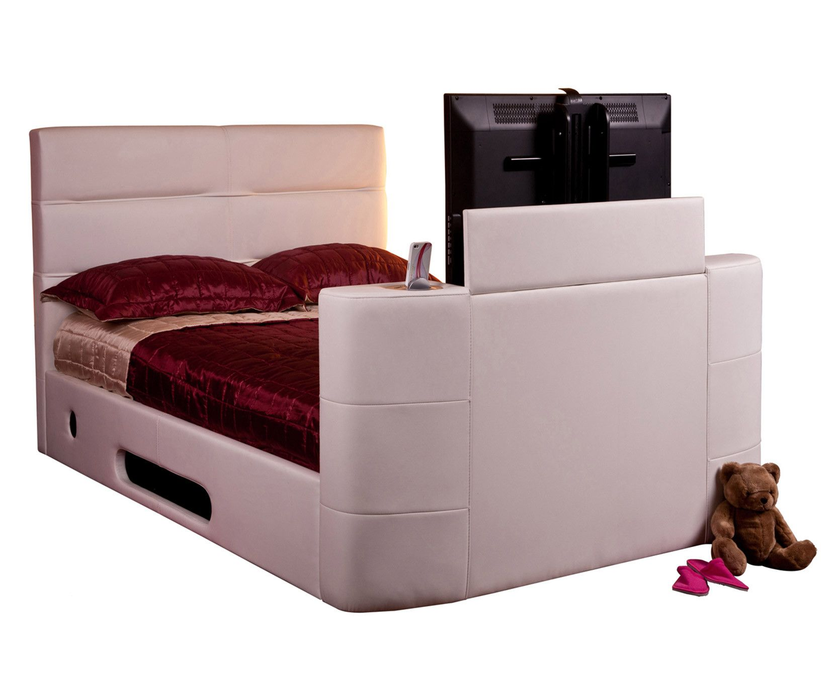 Faux Leather TV Beds Only on £594.99 | Beds Direct UK | Buy Now ...