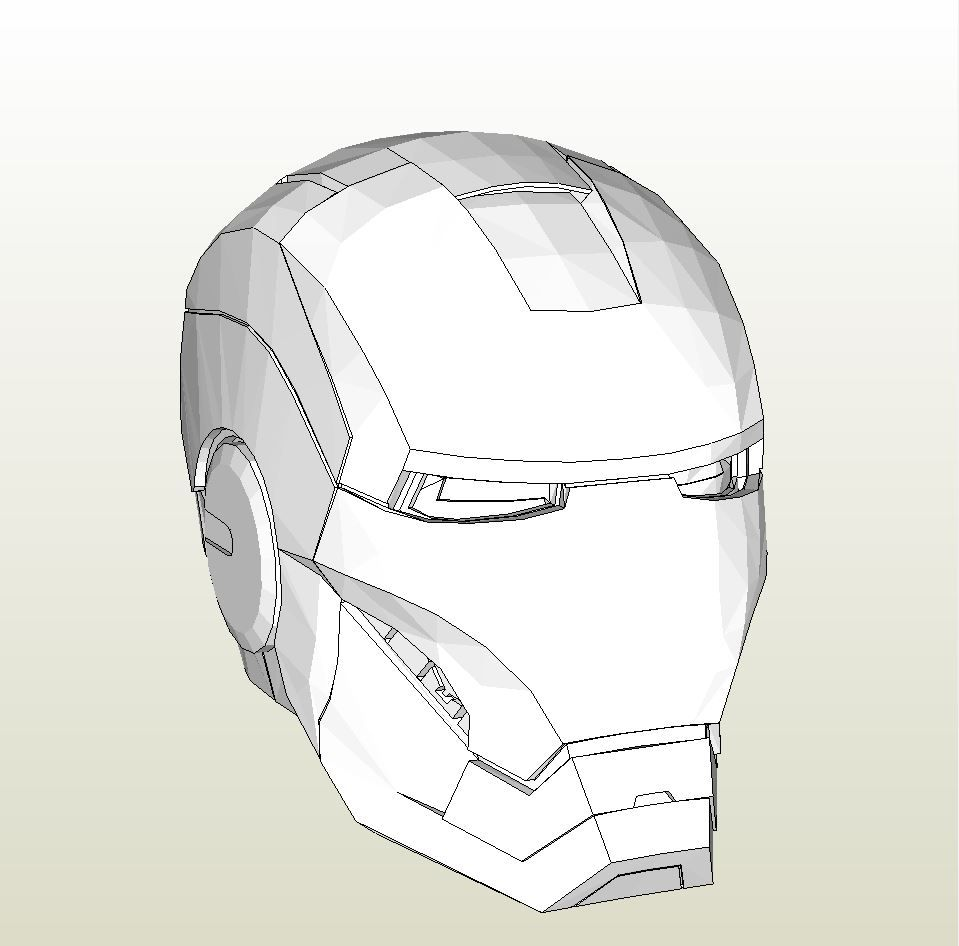 Papercraft pdo file template for iron man war machine full armor papercraft pdo file template for iron man war machine full armor foam maxwellsz