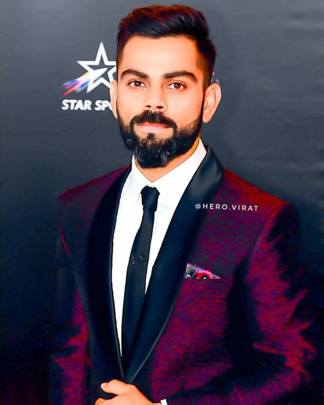 Image may contain: one or more people, beard and suit | Virat kohli  wallpapers, Virat kohli, Virat kohli instagram
