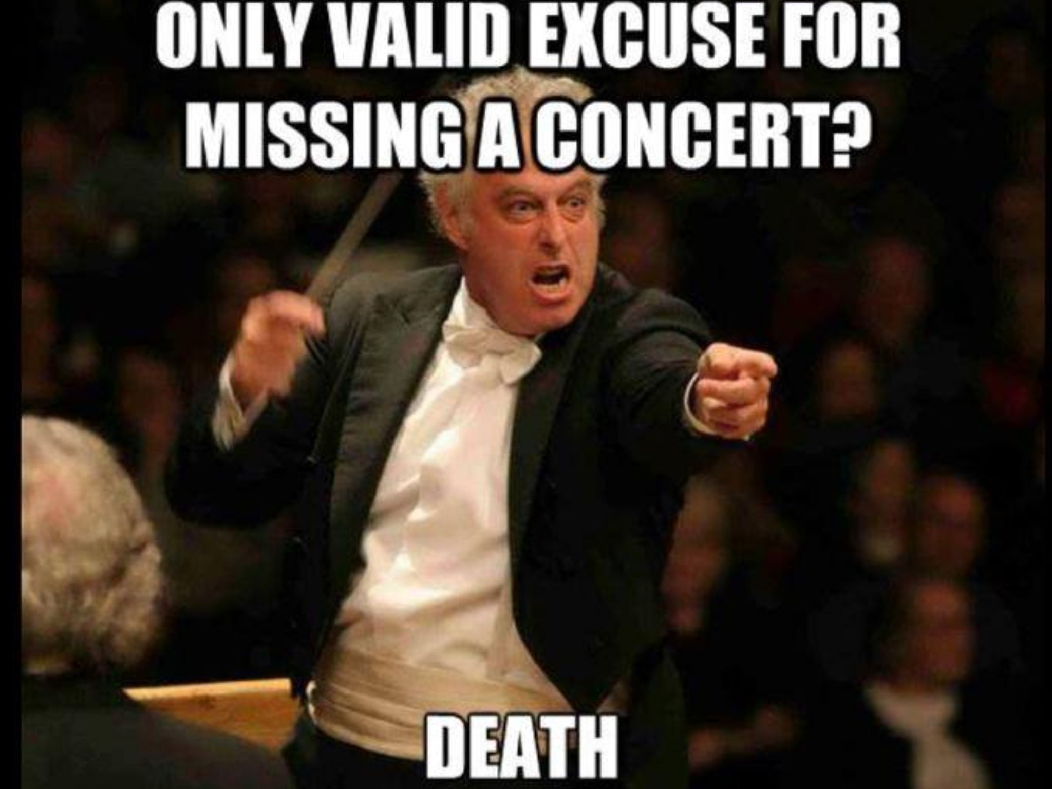 Concert Attendance Band Jokes Marching Band Memes Funny Band Memes