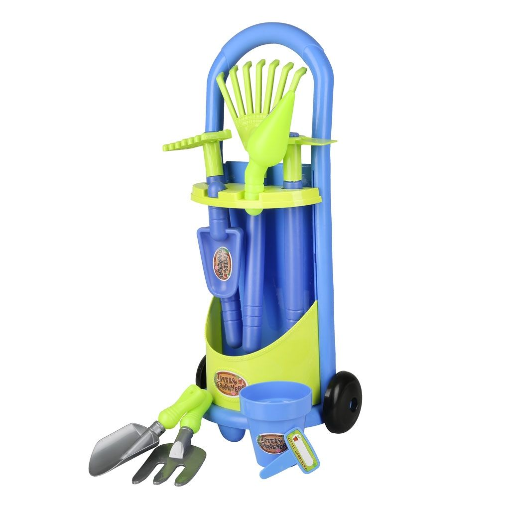 kinder-gartengeräte-set, 11-teilig blau jetzt bestellen unter: https