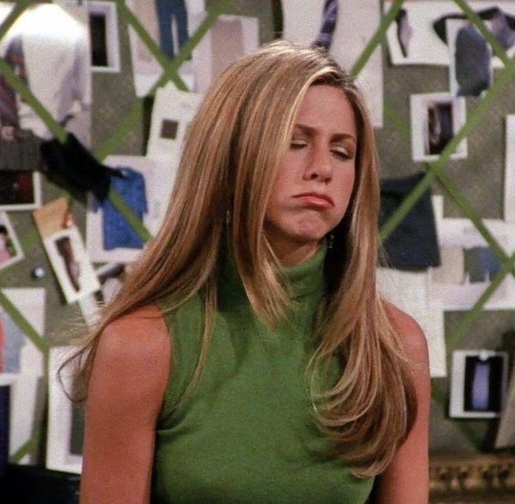 Pin By Carly Silberman On On Screen In 2020 Rachel Green Hair Jennifer Aniston Hair Friends Jennifer Aniston Hair