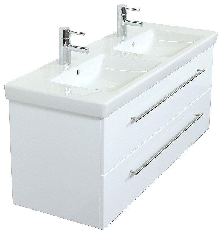 VILLEROY \ BOCH Waschtisch »Villeroy und Boch Subway 20, 717580 - villeroy und boch badezimmermöbel