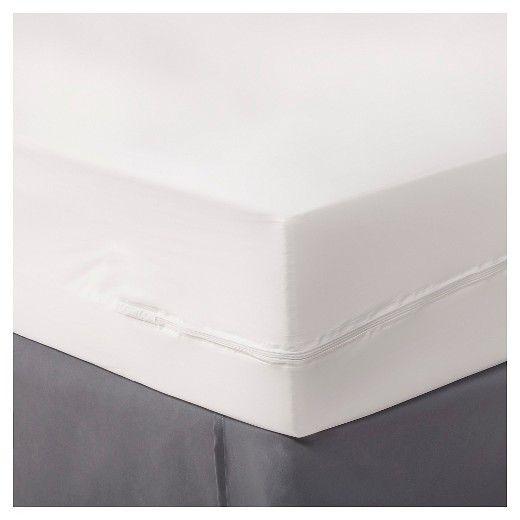 Zippered Mattress Protector White Twin, Mattress Storage Covers Target