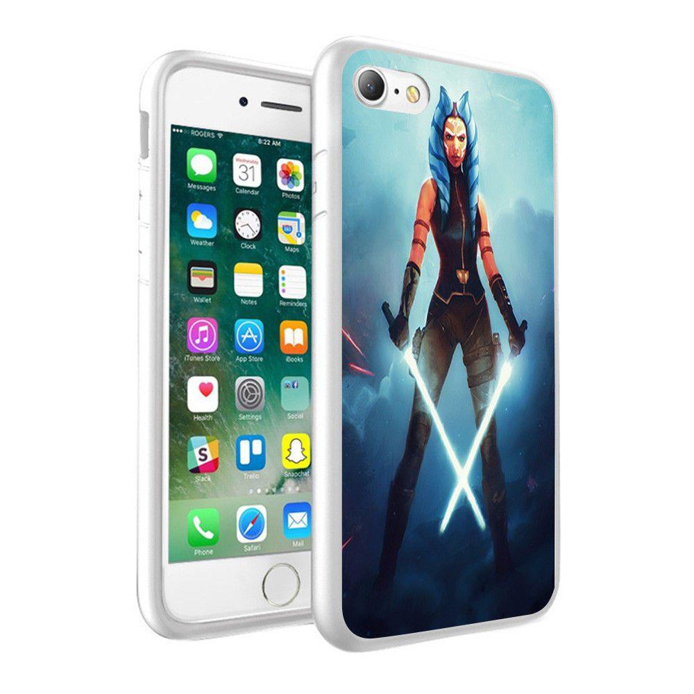 quality design 2cf9e 2bab9 $7.35 - Star Wars Ahsoka Tano Printed Hard Phone Case Skin Cover For ...