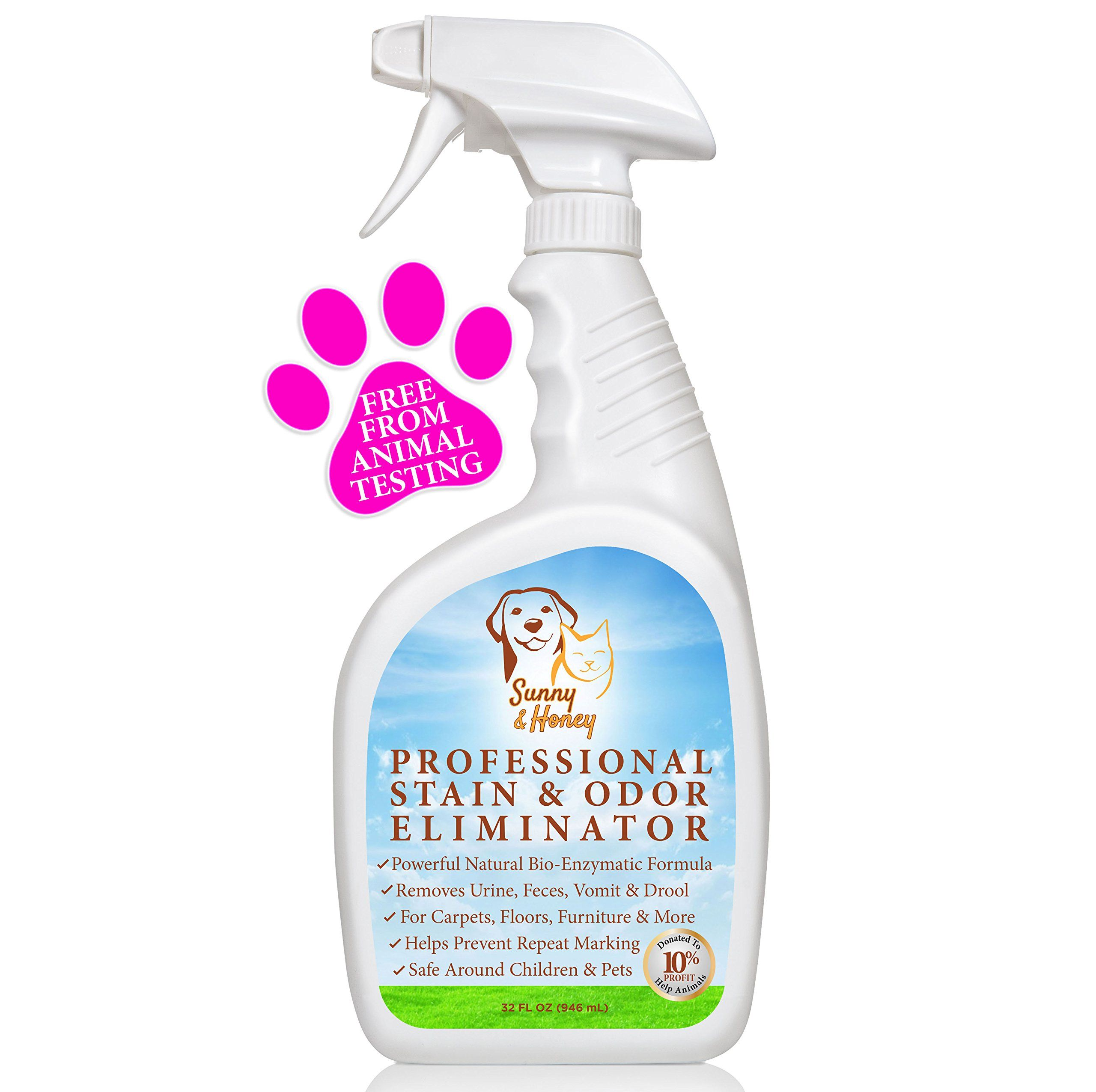 Amazoncom Enzyme Cleaner Pet Stain Remover Odor Eliminator