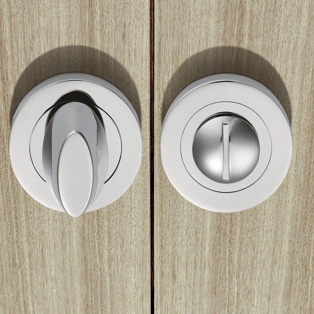 Serozzetta Szs004 Bathroom Thumb Turn Release Thumbturnbathroomlock Bathroomdoorlock Bathroomlock Door Furniture Bathroom Door Locks Chrome