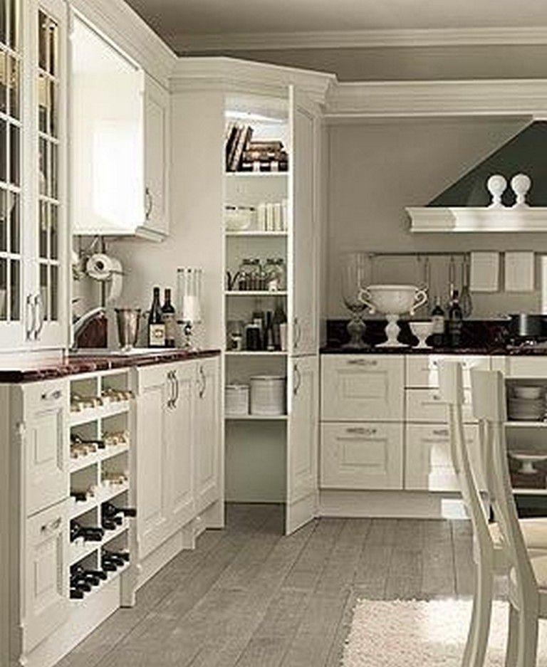 45 Unique Kitchen Pantry Ideas With Form And Function Kitchenpantry Kitchenpantryideas Kitchen Pantry Design Corner Kitchen Pantry Kitchen Corner Cupboard