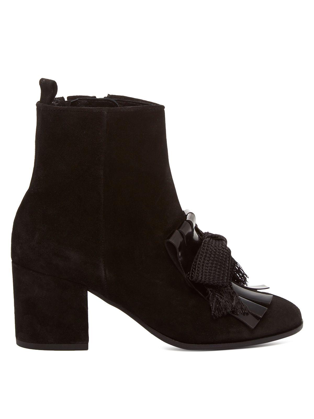 SCHÖNE< HIGH Heels Stiefelette Damen Männer Boots EU42 UK8