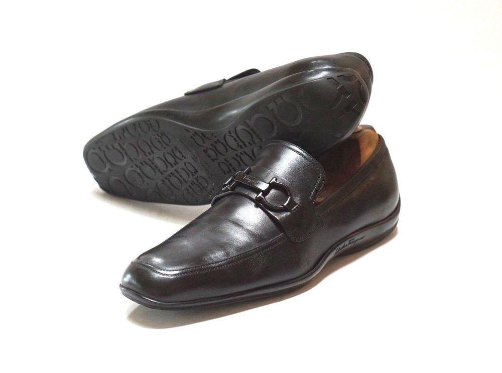 624e85d343a Salvatore Ferragamo Mens Black Leather Gancini Buckle Driving Shoes Size  10.5 2E  fashion  clothing  shoes  accessories  mensshoes  casualshoes  (ebay link)