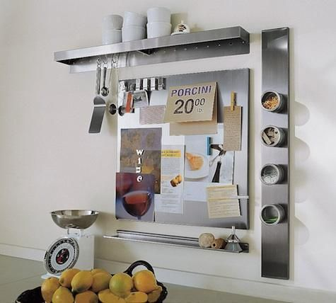 Delightful Stainless Steel Kitchen Organizers From Pottery Barn At Remodelista Nice Ideas