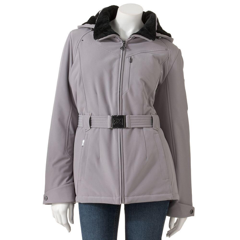 Nwt Misses Zeroxposur Hooded 4 Way Stretch Jacket Dove Size S 4 6 Jackets Outerwear Women Hooded Jacket [ 1000 x 1000 Pixel ]
