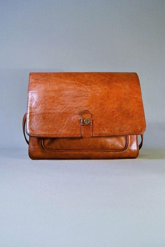 Cognac Adax BagShoulderbagOffice Vintage Leather Bag LRj35Aq4