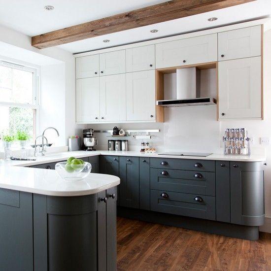 U Shaped Kitchen Layout With Peninsula u shaped kitchens | kitchens, house and open kitchens