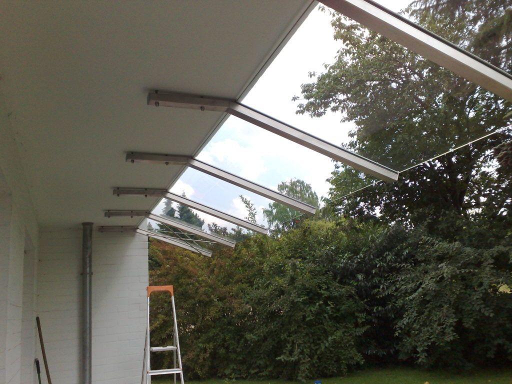 Vordach Fur Die Terrasse Vordach Dach Terrasse