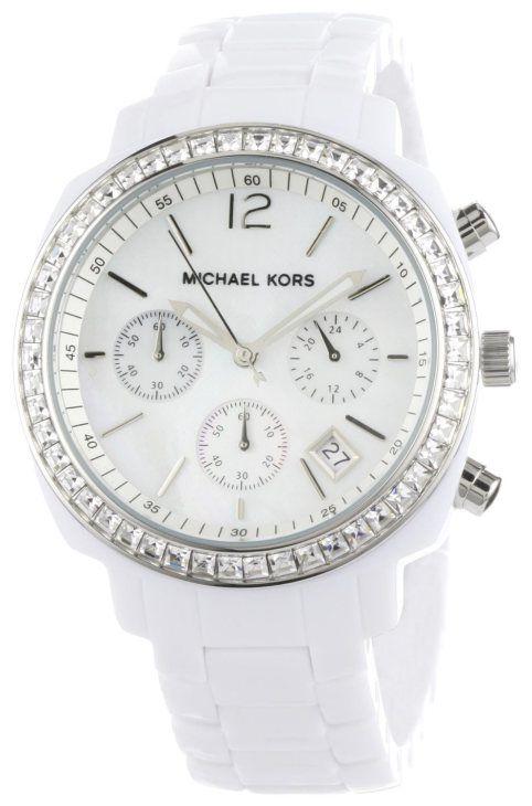 6a9fc69f9 Relógios Brancos, Relógios De Ouro, Relógios Michael Kors, Relógio Michael  Kors, Relógios Femininos, Doce Estilo
