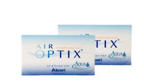 2 x AIR OPTIX™ Aqua 6 Stk.