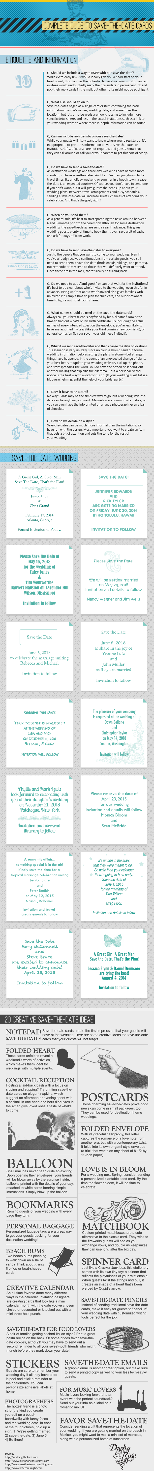 15 Destination Wedding Save the Date Wording Examples – Save the Date Wedding Wording Examples