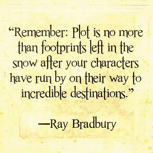 Bradbury Ray plot | Writing motivation, Writing advice, Writing
