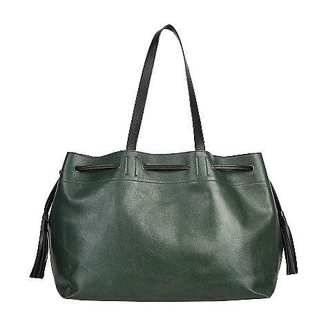Simple 2 Bis Tote Bag in Black Leather Gerard Darel G0RuLYQc