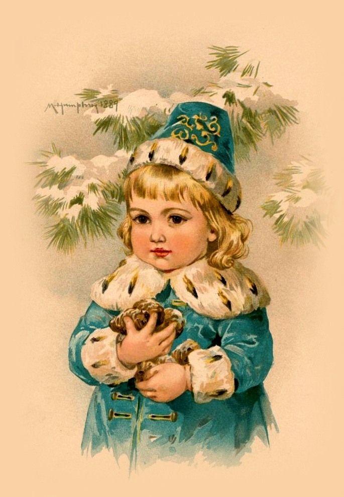 Санта прикольные, открытки рождество дети