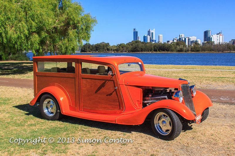 1934 Ford Woodie newbuild .I think this was built at Wyong