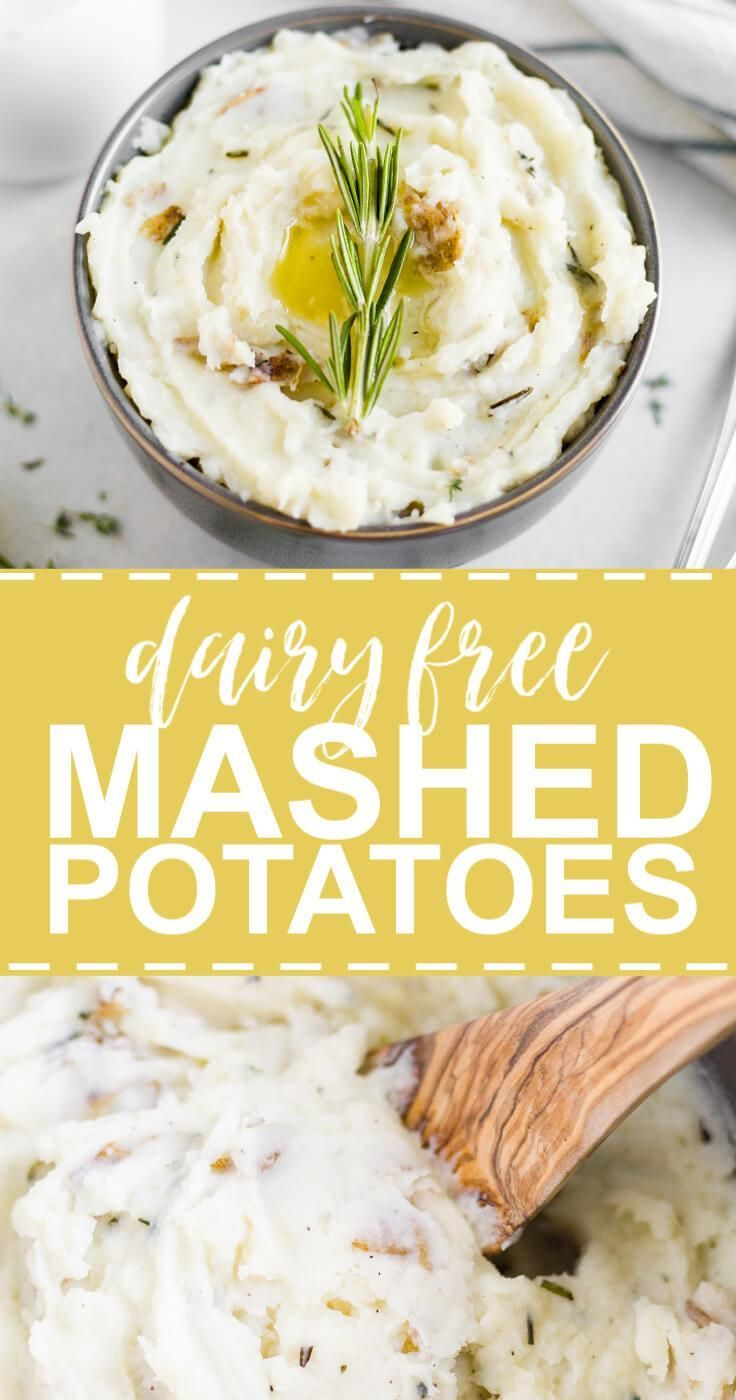 Best Dairy Free Mashed Potatoes | What Molly Made