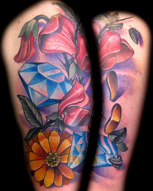Flowers and saphires tattoo steve martin httptattoosflower flowers and saphires tattoo steve martin httptattoosflowerflowers mightylinksfo Gallery