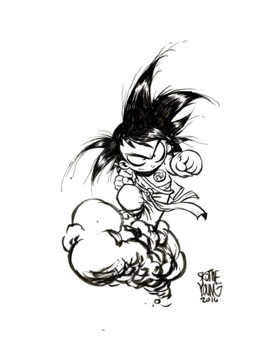 Skottie Young.com - Visit now for 3D Dragon Ball Z shirts now on sale!