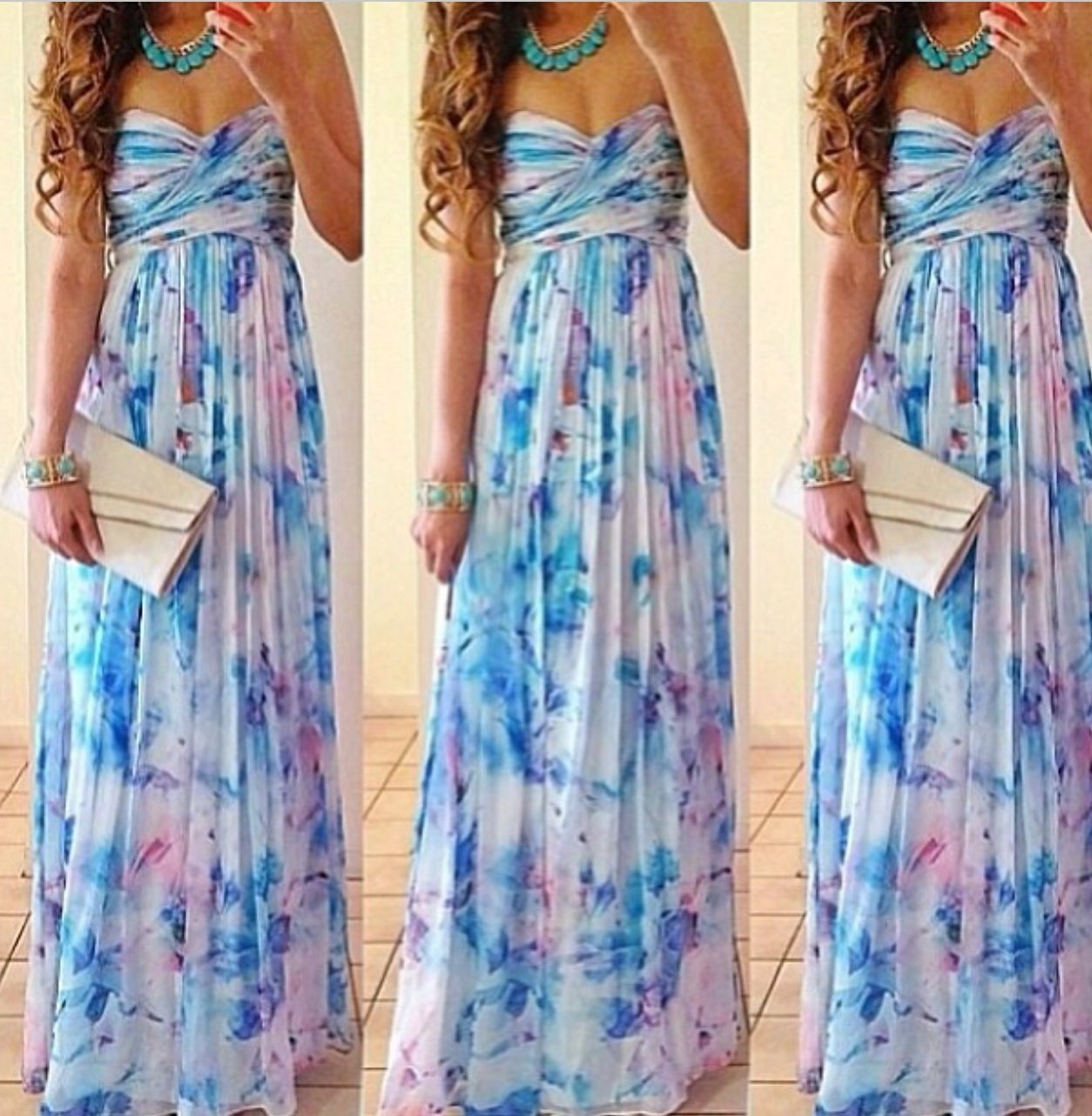 Outdoor summer wedding dresses  maxi dressI HATE pins like this they never lead to where you can