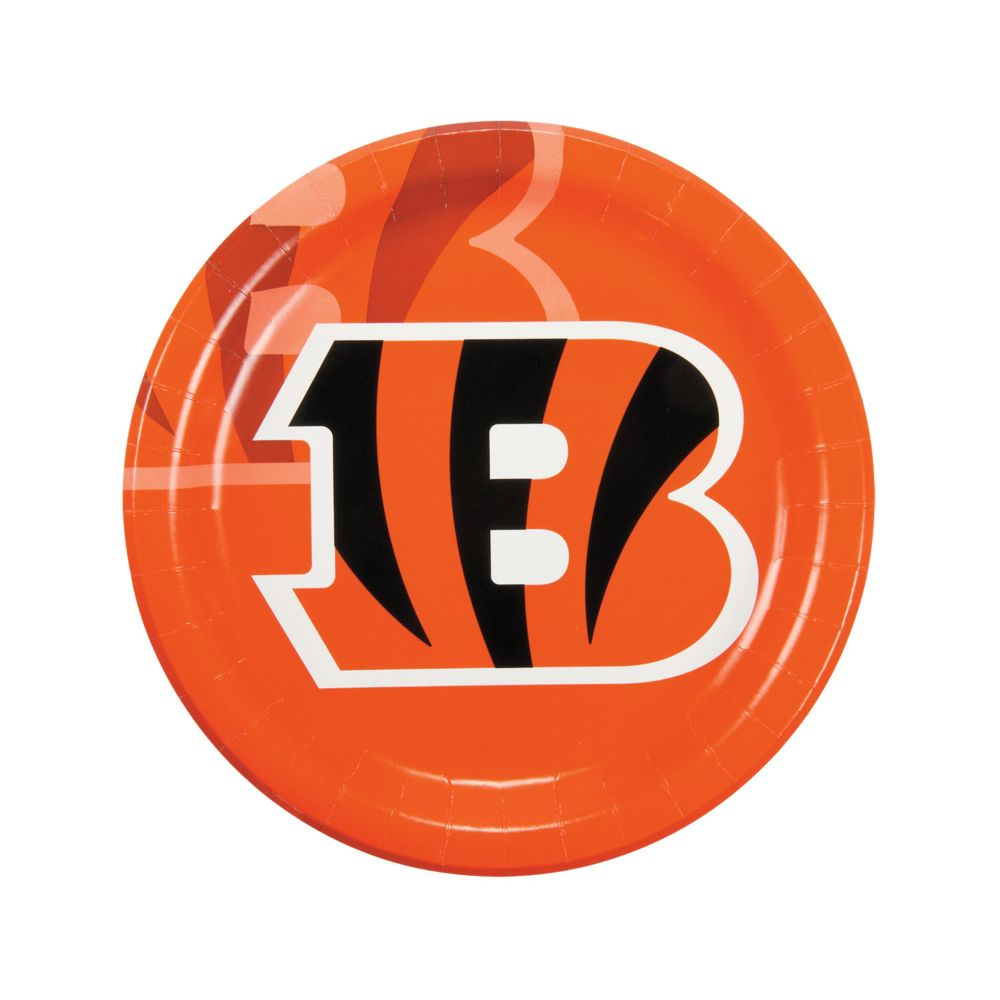 NFL® Cincinnati Bengals™ Paper Dinner Plates