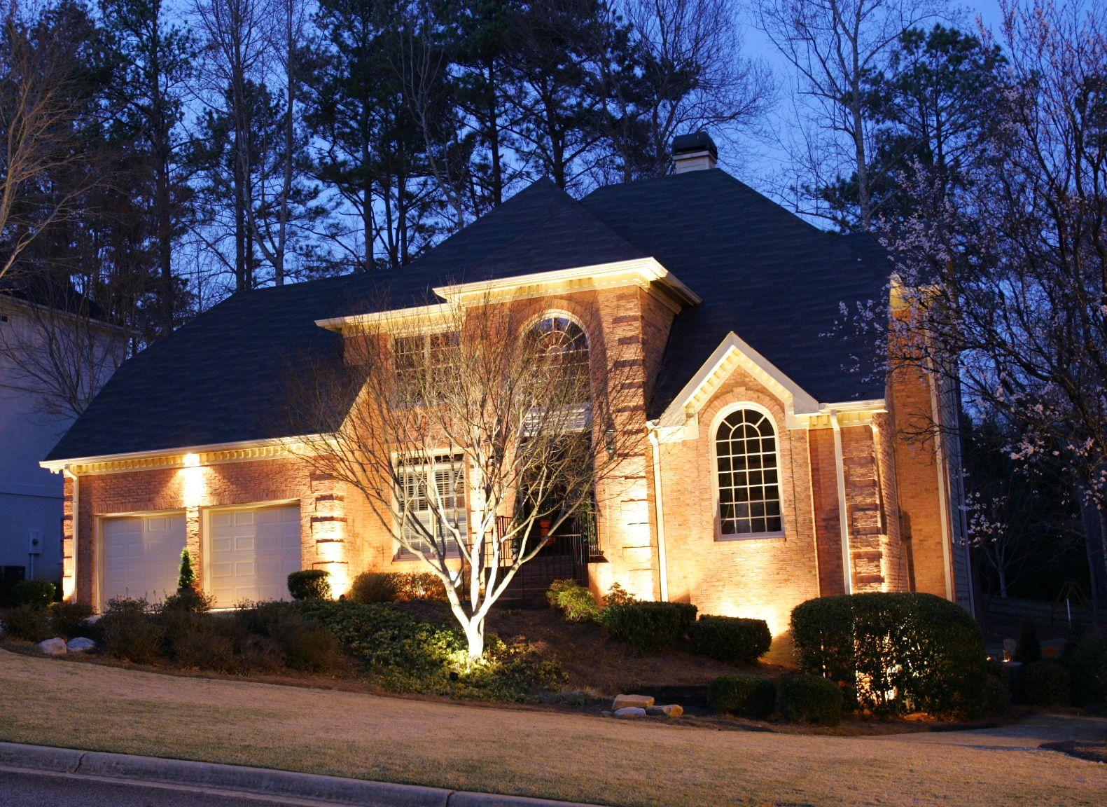 Modern home exterior lighting design HomeBuildersDaytona  My new