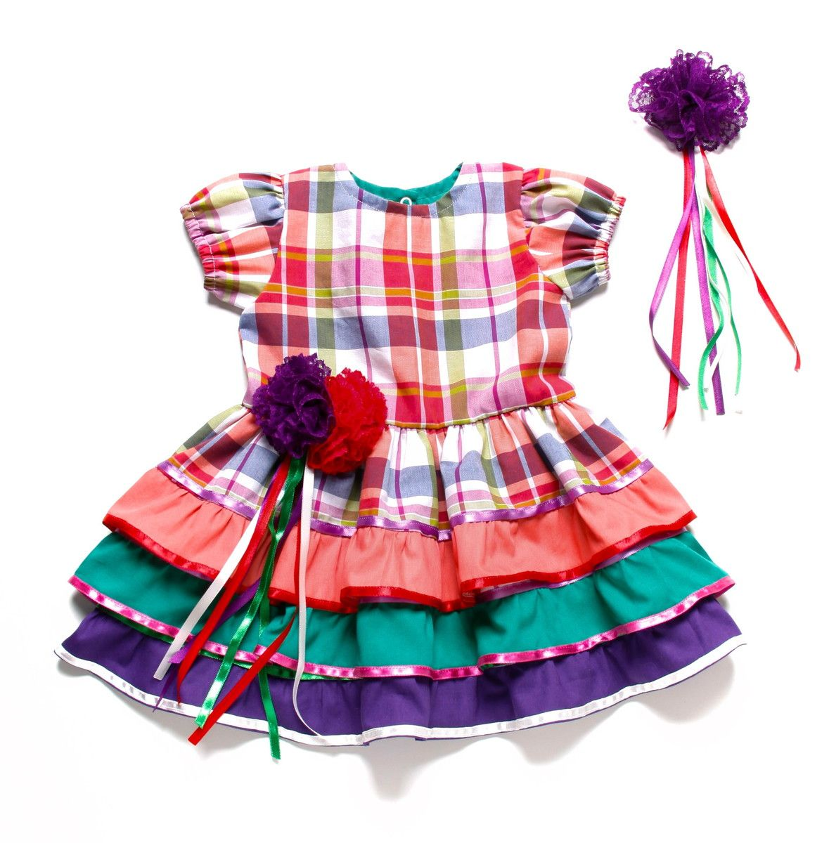 Vestido de festa junina no stardoll