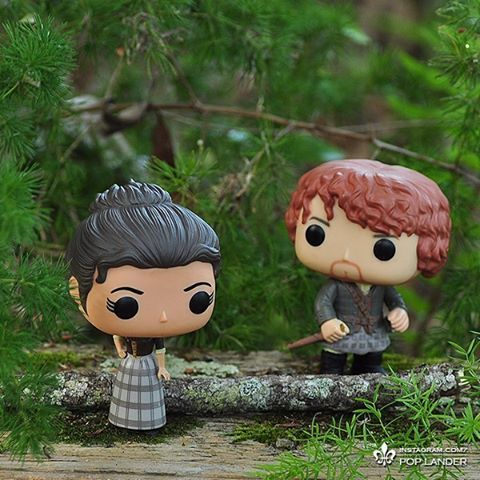 """""""No, I believe ye, Sassenach. So. I dinna understand it a bit, not yet. But I trust you. I trust your word, your heart. And I trust there is a truth between us. And so, whatever ye tell me I will believe ye."""" _ #outlander #outlanderseries #outlanderstarz #jamiefraser #clairefraser #funko #funkopop #popvinyl #popvinyls"""