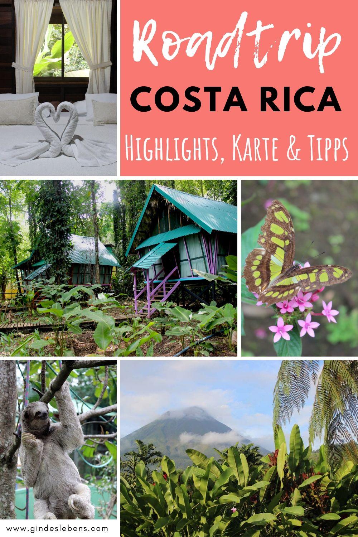 Costa Rica Pura Vida 1 Woche Rundreise Durch Costa Rica Costa Rica Reise Rundreise Costa Rica