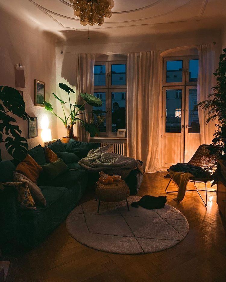 Cozy Aesthetic Apartment Living Room Novocom Top