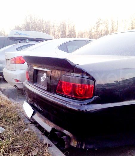 #ducktail@carbonpixels Toyota Chaser JZX100 The Ducktail Trunk Spoiler  (Duck Tail)