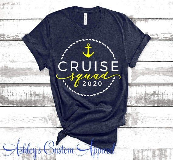 Cruise Shirt Matching Group Cruise Shirts Cruise Squad Custom | Etsy